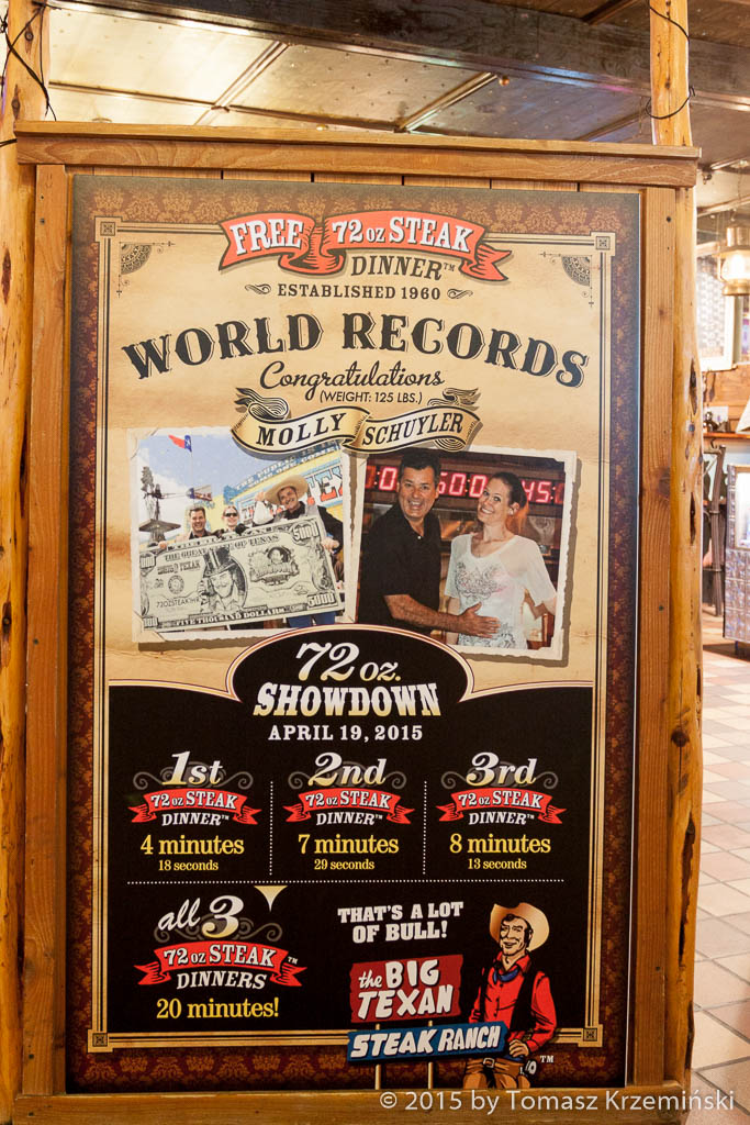 Big Texan World Record