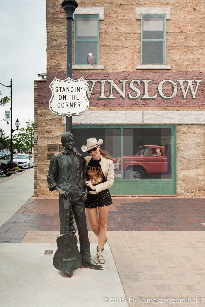 Standin' on the Corner, Winslow AZ