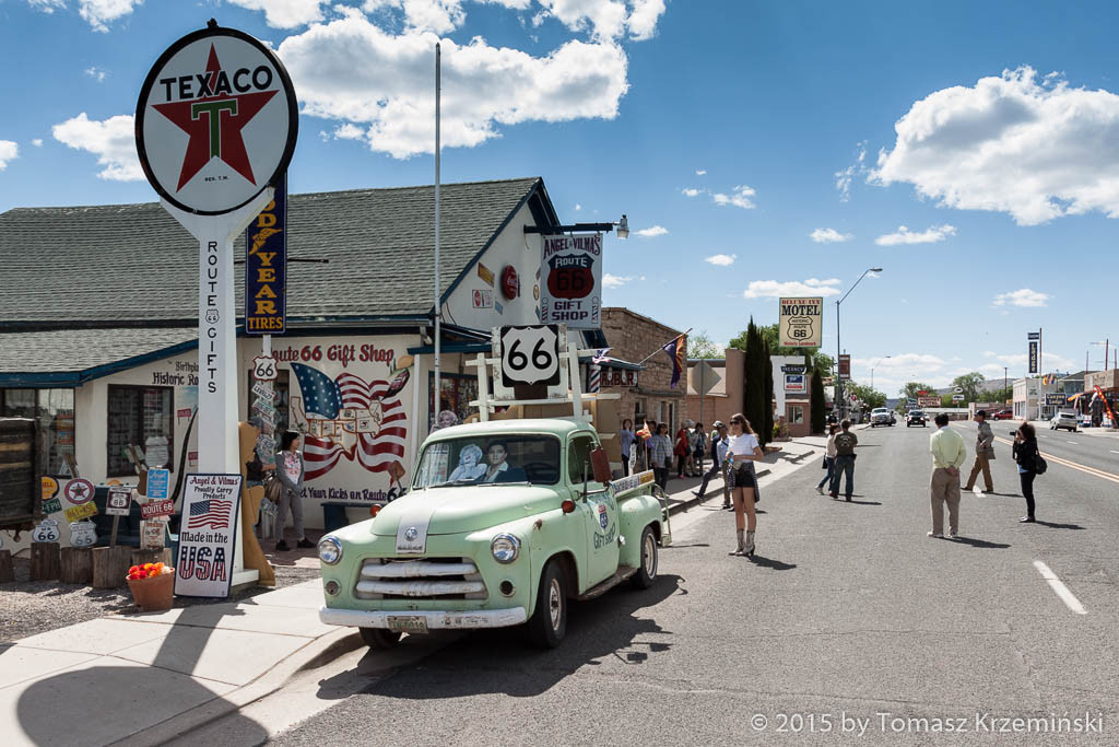 Angel and Vilma's Route 66 Gift Shop, Seligman AZ
