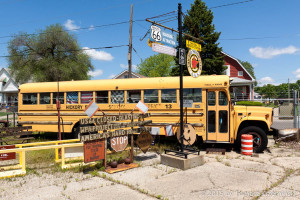 The Shea's Gas Station Museum – in private museums we can even find school buses which until today take children to schools