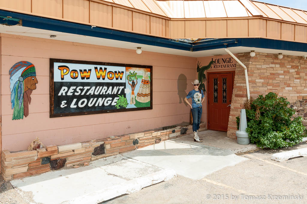 Pow Wow Restaurant and Lounge, Tucumcari NM