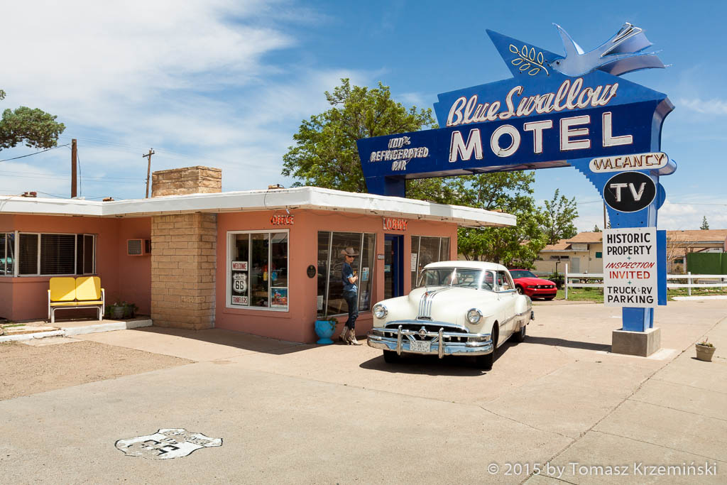 Motel Blue Swallow, Tucumcari NM