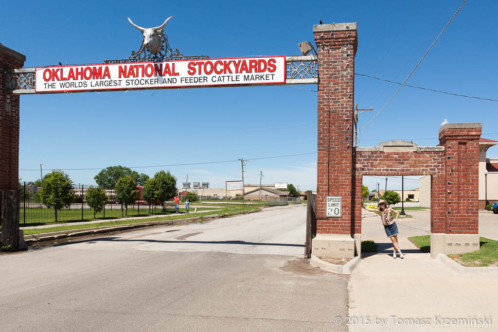 Oklahoma National Stockyards, Oklahoma City OK