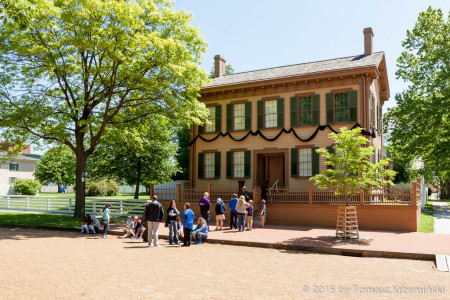 Abraham Lincoln's House, Springfield IL
