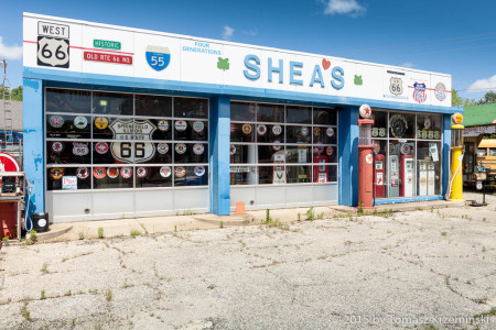Shea's Gas Station Museum, Springfield IL