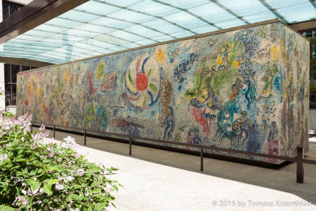 Mosaic by Marc Chagall, Chicago IL