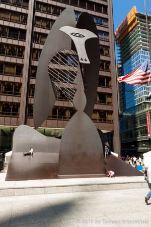 Sculpture by Pablo Picasso, Chicago IL