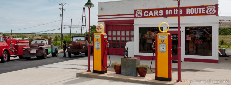 Cars on the Route 66
